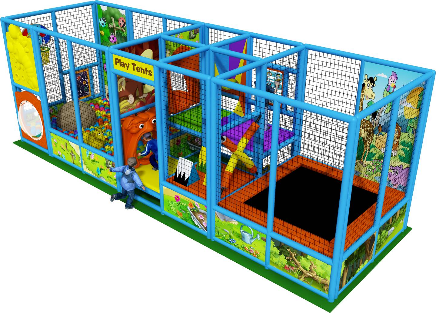 How to plan for children indoor playground business plan sample?